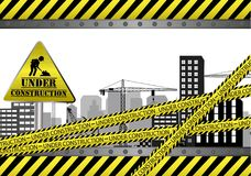 Under construction site Stock Photography