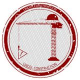 Under construction stamp Stock Photo