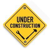Under construction super quality abstract business poster