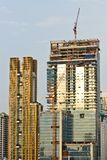 Under Construction tower Royalty Free Stock Image