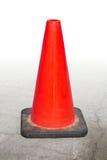 Under construction traffic cone forbidden orange Stock Photos