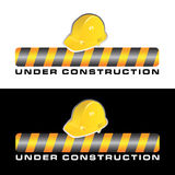 Under construction vector Stock Images