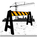 Under construction vector Stock Photo