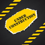Under Construction. Vector Illustration Stock Photos