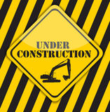 Under Construction. Vector Illustration Stock Photography