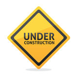 Under construction vector Royalty Free Stock Images