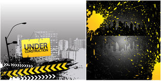Under Construction Vectors Stock Image