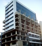 Under construction. While, walking found this awesome looking building under construction Royalty Free Stock Photo