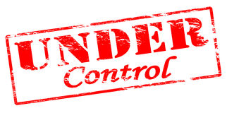 Under control Stock Image