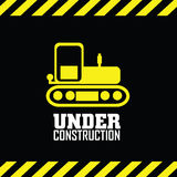 Under contruction Royalty Free Stock Photos