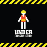 Under contruction Royalty Free Stock Image