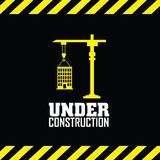 Under contruction Royalty Free Stock Photography
