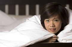 Under The Covers 3 Royalty Free Stock Photography