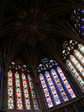 Under the cupola of Ely Cathedral Stock Images