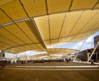 Under Decumano  tensile roof, EXPO 2015 Milan Royalty Free Stock Image