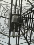 Under den höga antennen 2 fotografering för bildbyråer