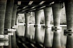 Under den statliga bron för rutt 520 i Seattle USA Royaltyfri Foto