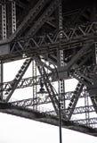 Under den Sydney hamnen överbrygga Royaltyfri Fotografi