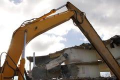 Under destruction Stock Images