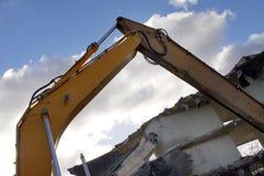 Under destruction Stock Photo