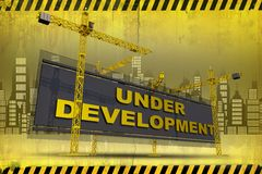 Under Development Concept Royalty Free Stock Image