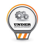 Under development  icon Stock Photography