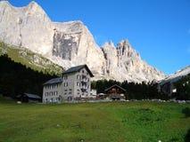 Under the Dolomites Stock Image
