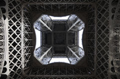 under the eiffel tower Royalty Free Stock Photo