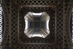 Under the Eiffel tower, Paris, France Stock Photography