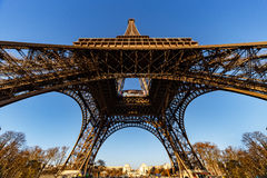 Under the the Eiffel Tower Royalty Free Stock Image