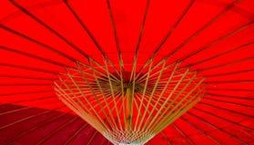 Under ett paraply Royaltyfri Foto