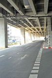 Under express way Royalty Free Stock Images