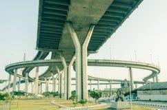 Under expressway Stock Photography