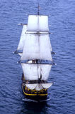 Under Full Sail Royalty Free Stock Photos