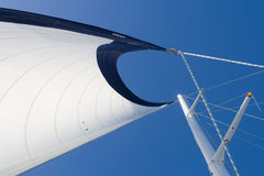 Under full sail Stock Photography