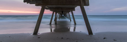 Under Glenelg Jetty Royalty Free Stock Image