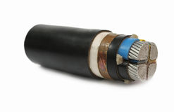Under ground cable Stock Image