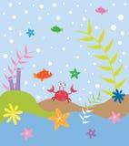 Under havet stock illustrationer