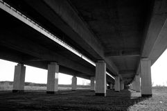 Under the highway Royalty Free Stock Images