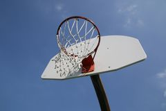 Under the hoop you can see the sky, Royalty Free Stock Photo