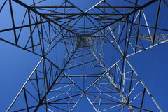 Under Hydro Tower Stock Photography