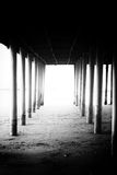 Under the Jetty Royalty Free Stock Images