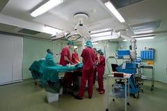Under kirurgi Arkivfoto