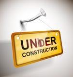 Under konstruktion Fotografering för Bildbyråer