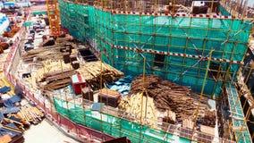 Under konstruktionsplats Royaltyfri Fotografi