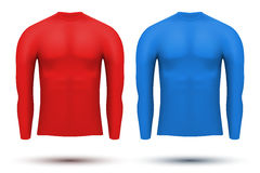 Under layer compression shirt with long sleeve of Royalty Free Stock Photos