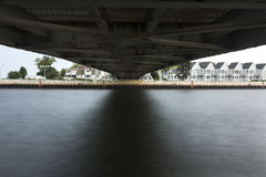 Under Lift Bridge Stock Photography