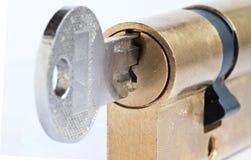 Under lock and key Stock Photo