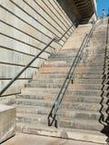 Steps leading up to the London Bridge stock photo