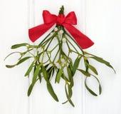 Under the Mistletoe Stock Photography